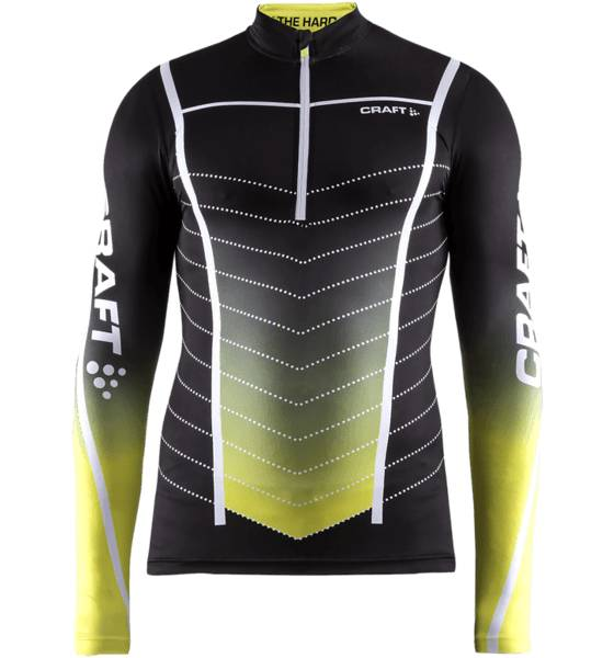 Craft Maastohiihtovaatteet Craft M Pace Jersey BLACK/PACIFIC/WHIT (Sizes: S)