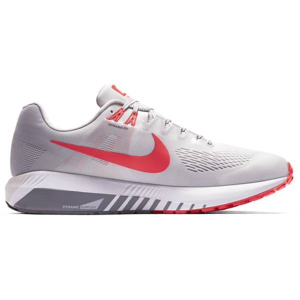 Nike M Air Zoom Structure 21 Juoksukengät VAST GREY/BRIGHT C (Sizes: US 9)