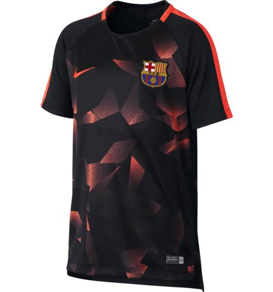 Nike Fcb Y Nk Dry Sqd Top Ss Cl Jalkapallovaatteet FCB CAMO RED (Sizes: L)