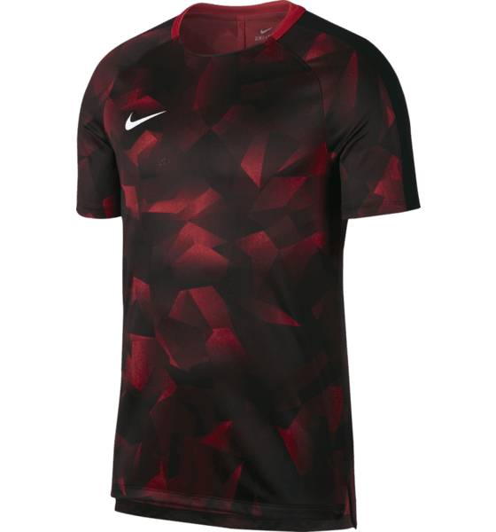 Nike Jalkapallovaatteet Nike M Nk Dry Sqd Top Ss Cl RED CAMO (Sizes: M)