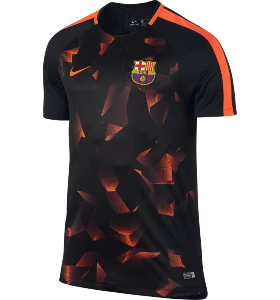 Nike Fcb M Nk Dry Sqd Top Ss Cl Jalkapallovaatteet FCB CAMO RED (Sizes: M)