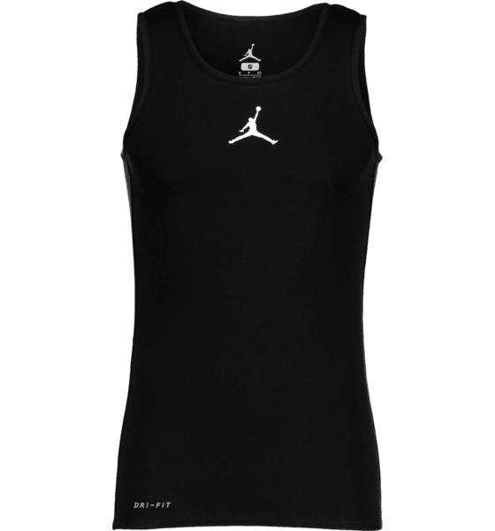 Jordan M Rise Dri-fit Tank Koripallovaatteet BLACK/WHITE (Sizes: S)