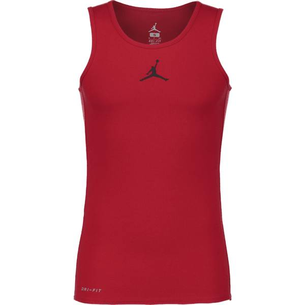 Jordan Koripallovaatteet Jordan M Rise Dri-fit Tank GYM RED/BLACK (Sizes: S)