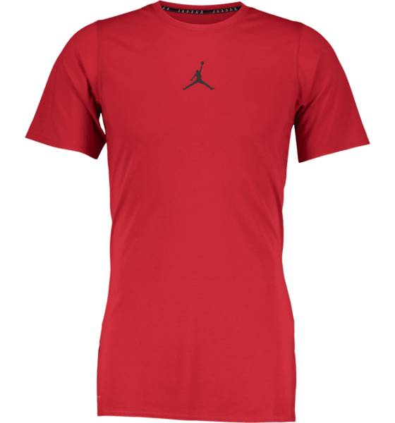 Jordan Koripallovaatteet Jordan M 23 Alpha Dry Ss Top GYM RED/BLACK (Sizes: M)