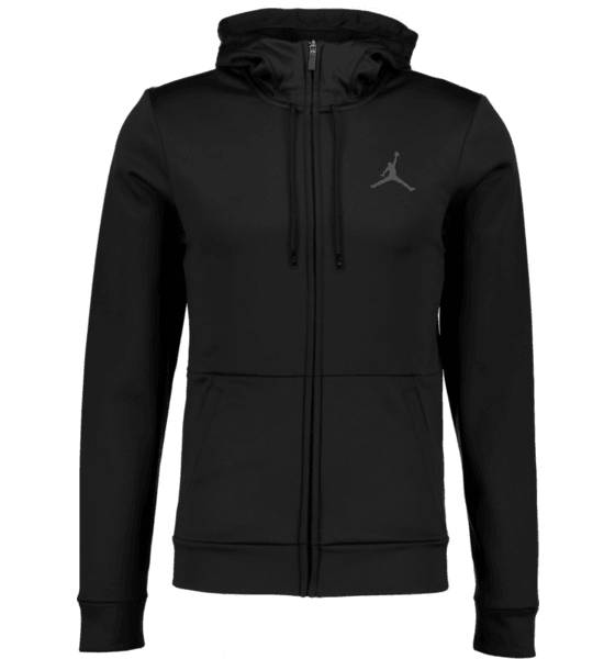 Jordan Koripallovaatteet Jordan M 23 Alpha Therma Fz Hoodie BLACK/ANTHRACITE (Sizes: L)