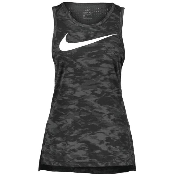 Nike W Tank Elite Mesh Koripallovaatteet BLACK/ANTHRACITE/W (Sizes: XS)