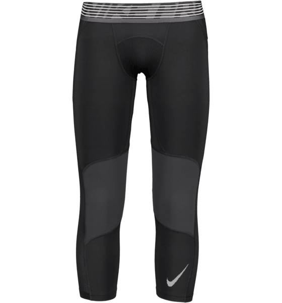Nike Koripallovaatteet Nike M Dry Tight 3qt BLACK/WHITE (Sizes: XL)