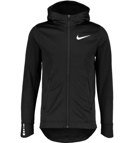 Nike M Nk Thrma Elite Hoodie Fz Sol Koripallovaatteet BLACK/WHITE (Sizes: XL)