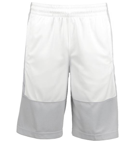 Jordan Koripallovaatteet Jordan M Rise Solid Short WOLF GREY/WHITE (Sizes: L)