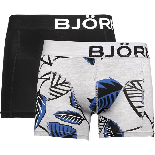 Bjorn Borg Alusvaatteet Bjorn Borg M Nature Shorts 2p BLACK (Sizes: L)