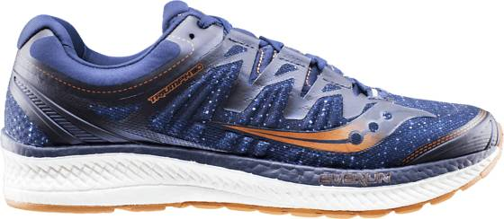 Saucony M Triumph Iso 4 Juoksukengät NAVY/DENIM/COPPER (Sizes: US 10)
