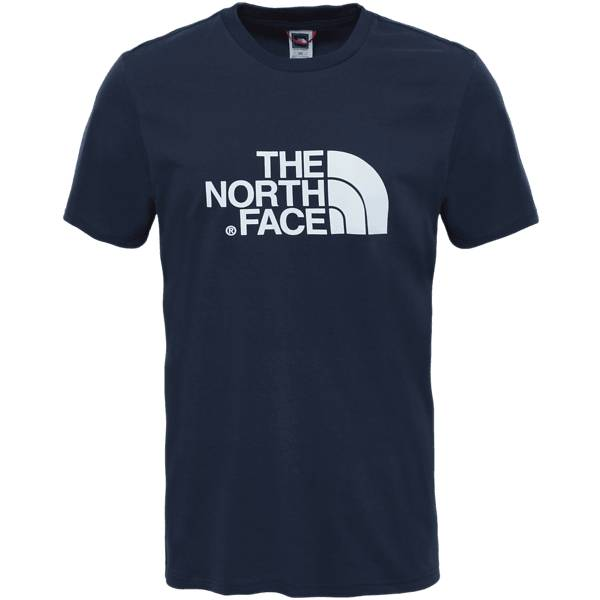 The North Face M S/s Easy Tee Retkeilyvaatteet URBAN NAVY/TNF WHI (Sizes: L)