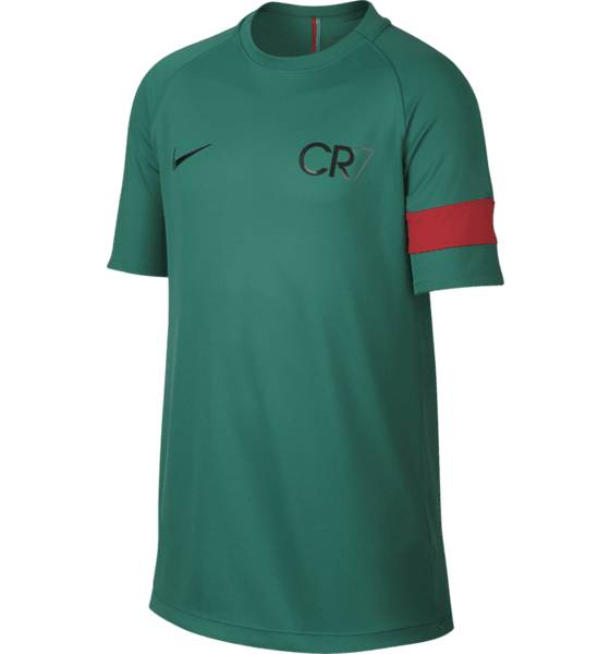 Nike Cr7 B Acd Top Ss J Jalkapallovaatteet KINETIC GREEN/DEEP (Sizes: S)