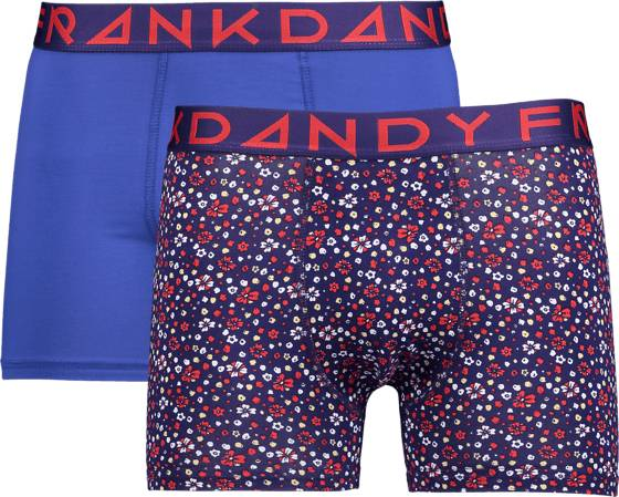Frank Dandy M Blume Boxer 2p Alusvaatteet NAVY/CLASSIC BLUE (Sizes: L)