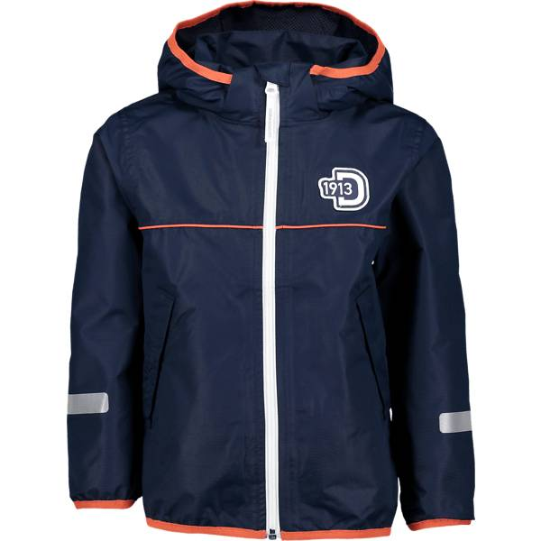Didriksons J Viskan Jacket Kevättakit NAVY (Sizes: 110)