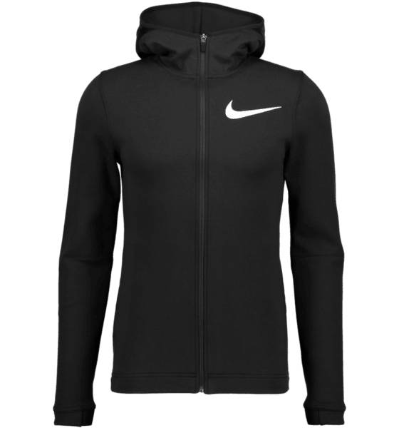 Nike M Nk Dry Showtime Hoodie Fz Koripallovaatteet BLACK/WHITE (Sizes: XL)