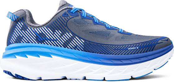 Hoka One One M Bondi 5 Juoksukengät CHARCOAL GRAY/TRUE (Sizes: US 8.5)