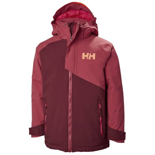 Helly Hansen J Cascade Jacket Lasketteluvaatteet CABERNET (Sizes: 140)