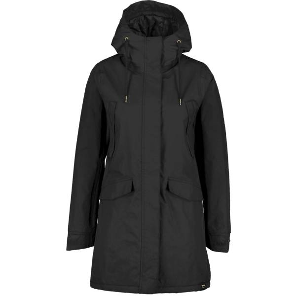 Tretorn W Rainjacket From The Sea Padded Retkeilyvaatteet DEEP END BLACK (Sizes: M)