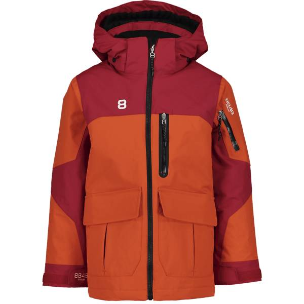 8848 Altitude J Jayden Jkt Lasketteluvaatteet RED CLAY (Sizes: 120)