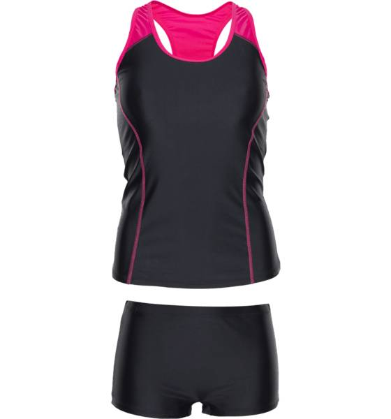 Soc Uimapuvut Soc W Tankini BLACK/FUCHSIA (Sizes: 46)