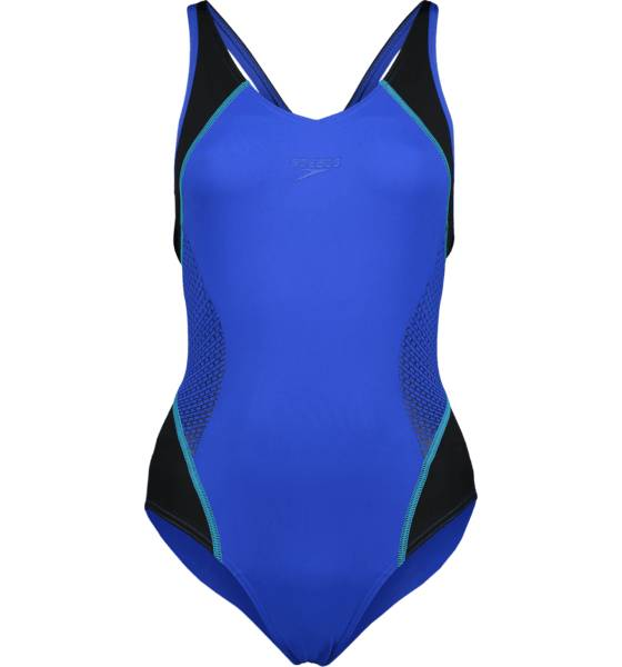 Speedo Uimapuvut Speedo W Fit Splice Muscleback BEAUTIFUL BLUE/BLA (Sizes: 42)