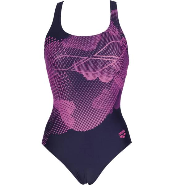 Arena Uimapuvut Arena W Graphic One Piece NAVY/MULTI (Sizes: 38)