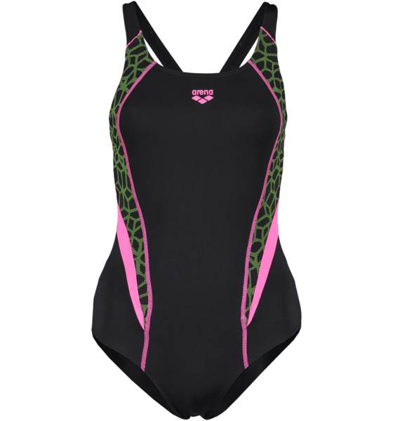 Arena Uimapuvut Arena W Microcarbonite One Piece Lb BLACK/FRESIA (Sizes: 42)
