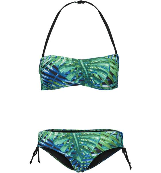 Soc W Beach Bikini Bikinit JUNGLE GREEN AOP (Sizes: 34)