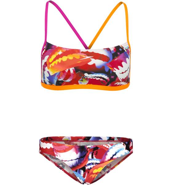 Speedo W Electric Gem 2 Piece Crossback Bikinit FLUO ORANGE/ELECTR (Sizes: 34)