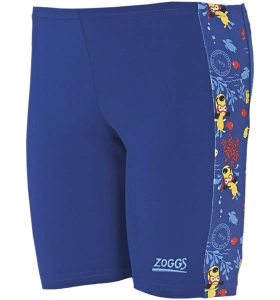 Zoggs B Diving Dog Spliced Mini Jammer Uimahousut BLUE REBEL (Sizes: 92)