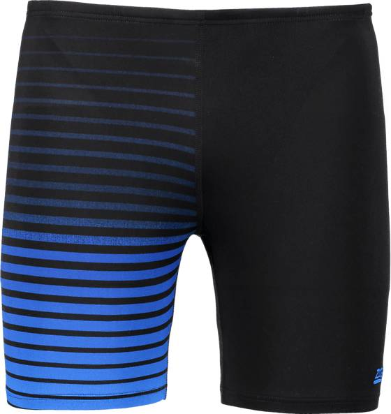 Zoggs Uimahousut Zoggs M Cairns Mid Jammer BLACK/BLUE STRIPE (Sizes: 32)