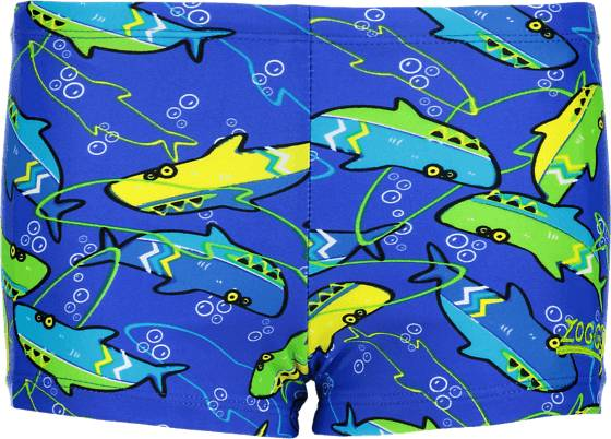 Zoggs Uimahousut Zoggs K Sharky Hip Racer BLUE/MULTI (Sizes: 98)
