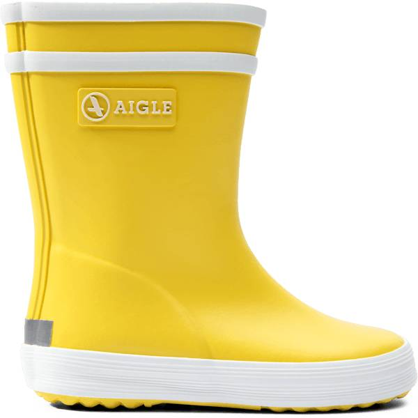 Aigle K Baby Flac Rubberboot Kumisaappaat JAUNE (Sizes: 23)