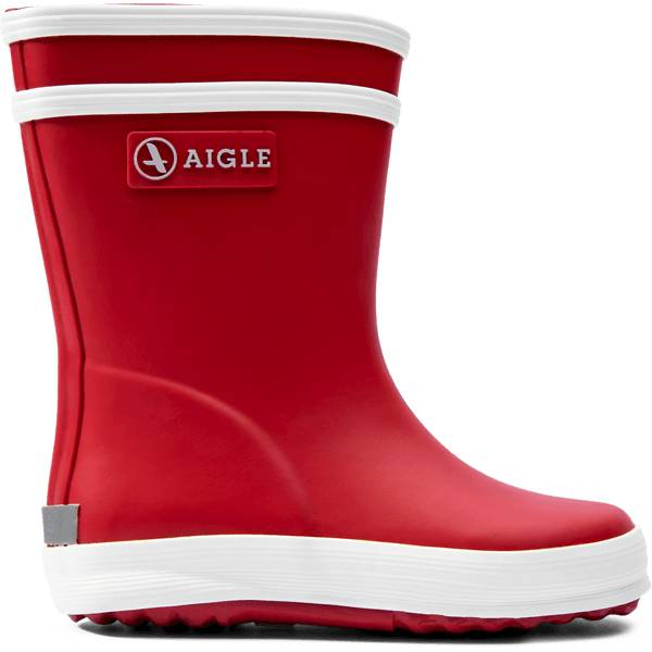 Aigle K Baby Flac Rubberboot Kumisaappaat ROUGE (Sizes: 23)