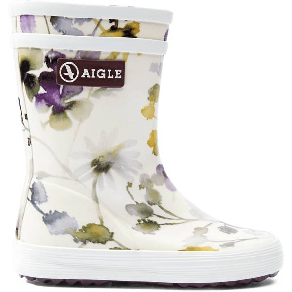 Aigle K Baby Flac Prnt Rb Kumisaappaat WILDFLOWER (Sizes: 21)