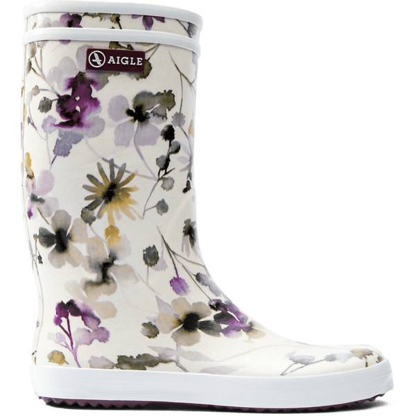 Aigle J Lolly Pop Prnt Rb Kumisaappaat WILDFLOWER (Sizes: 33)