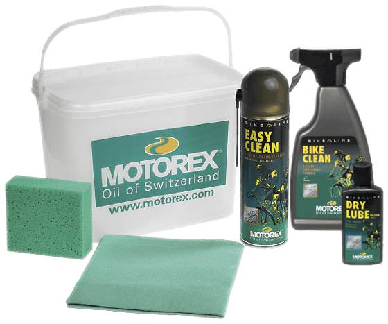 Motorex Bike Clean Kit Pyöräilytarvikkeet GREEN/YELLOW (Sizes: One size)