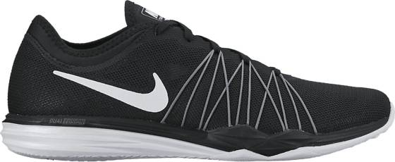 Nike Treenikengät Nike W Dual Fusion Hit BLK/WHITE-MTLC (Sizes: US 8.5)