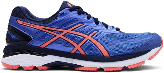 Asics Juoksukengät Asics W Gt-2000 5 REGATTA BLUE/FLASH (Sizes: US 7)