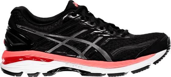 Asics W Gt-2000 5 Juoksukengät BLACK/CARBON/HOT O (Sizes: US 6)