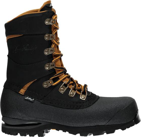 Lundhags W Mira Ii Light High Trekkingkengät BLACK/RUSH (Sizes: 39)