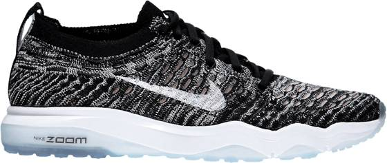 Nike Treenikengät Nike W Air Zoom Fearless Flyknit BLK/WHITE (Sizes: US 7)