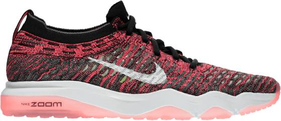 Nike Treenikengät Nike W Air Zoom Fearless Flyknit BLACK/SOLAR RED (Sizes: US 8.5)