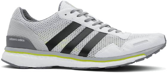 Adidas M Adizero Adios Juoksukengät WHITE (Sizes: UK 8)