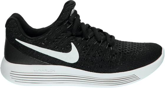 Nike Treenikengät Nike B Lunarepic Low Flyknit 2 Gs BLACK/WHITE (Sizes: US 4)