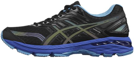 Asics W Gt-2000 5 Ls Fi Juoksukengät BLACK/ISLAND BLUE/ (Sizes: US 8)