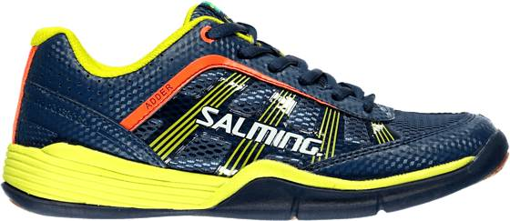 Salming Käsipallokengät Salming J Adder BLUE/YELLOW (Sizes: UK 5)
