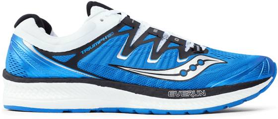 Saucony M Triumph Iso 4 Juoksukengät BLUE/BLACK/WHITE (Sizes: US 11)