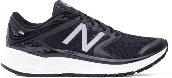 New Balance W Freshfoam 1080 Juoksukengät BLACK/WHITE (Sizes: US 8)